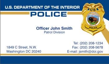 PoliceBusinessCards.com - Display Business Cards