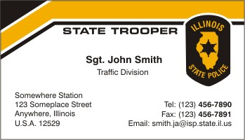 Policebusinesscards display business cards click to order this card colourmoves Images